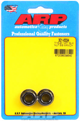 7/16in  8740 Black Oxide 12-pt Nut Kit