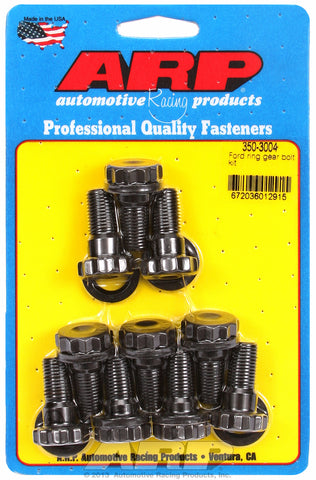 Ring Gear Bolt Kit for Ford Ring gear bolt kit with washers, 1/2˝ shank