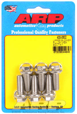 Upper blower pulley SS hex bolt kit