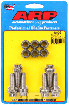 Exhaust collector .475-.600 flange bolt kit