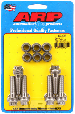 Exhaust collector .725-.850 flange bolt kit