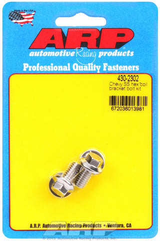 Coil Bracket Bolt Kit for Chevrolet Stainless - Hex Head