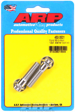Starter Bolt Kit for Ford 2-bolt 12-Pt