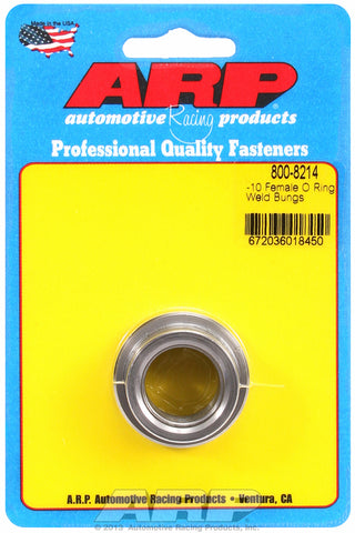 -10 female O ring steel weld bung