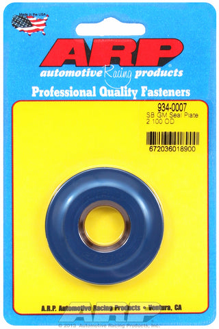 Small Block GM 2.100in OD Block Seal Plate