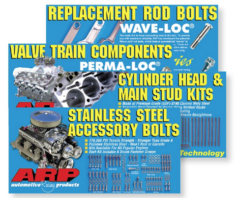 ARP POP Poster - Stainless Steel Accessory Bolts