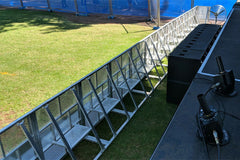Event Lighting Crowd Control Barriers
