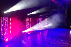 Event Lighting wash lights and truss