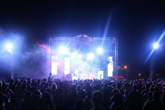 Event Lighting with Electric Storm Music Festival