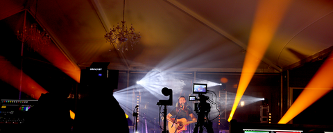R and R productions Sea Tunes with Event Lighting LM150B