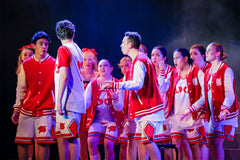 High School Musical Event Lighting LED Moving Head Theatre Lights Parcan Antari Fog Haze