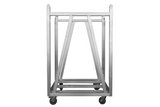 Event Lighting Crowd Barrier Trolley side