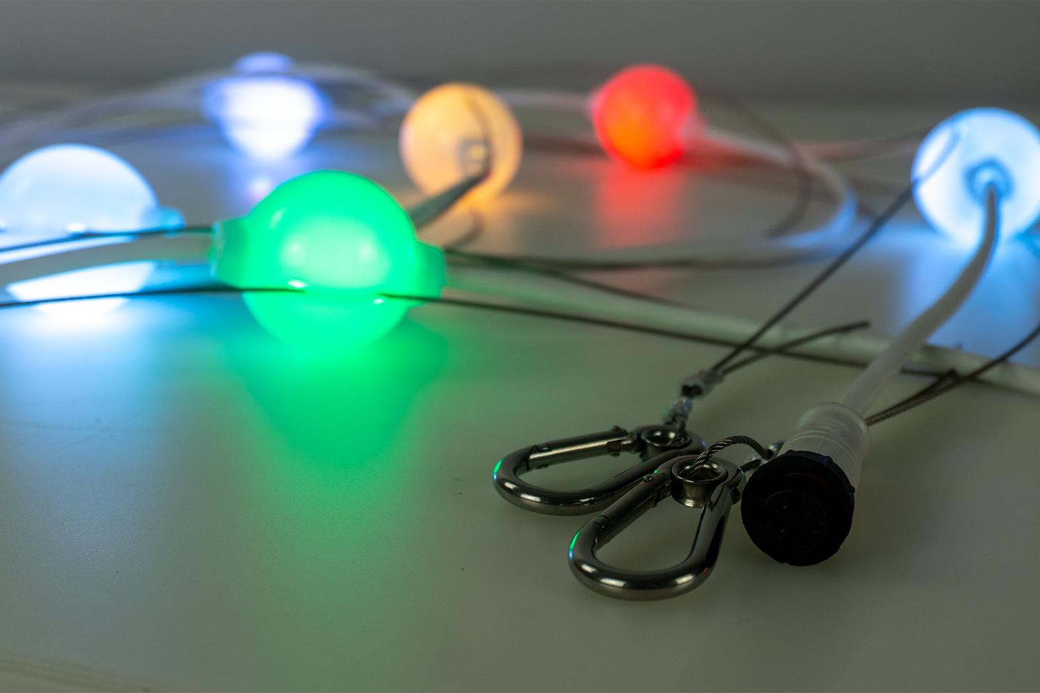 Event Lighting PIXBALLS2 Outdoor Festoon Lighting System, multicolour