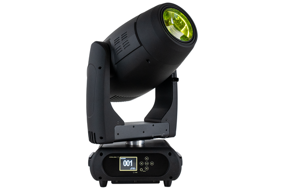 Event Lighting M1H300W hybrid moving head, hero, yellow