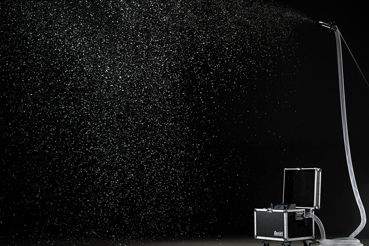 S500 / S500L - Professional snow machine in road case