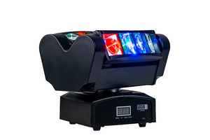 Event Lighting Lite SPIDER Twin 4 Beam Moving Head