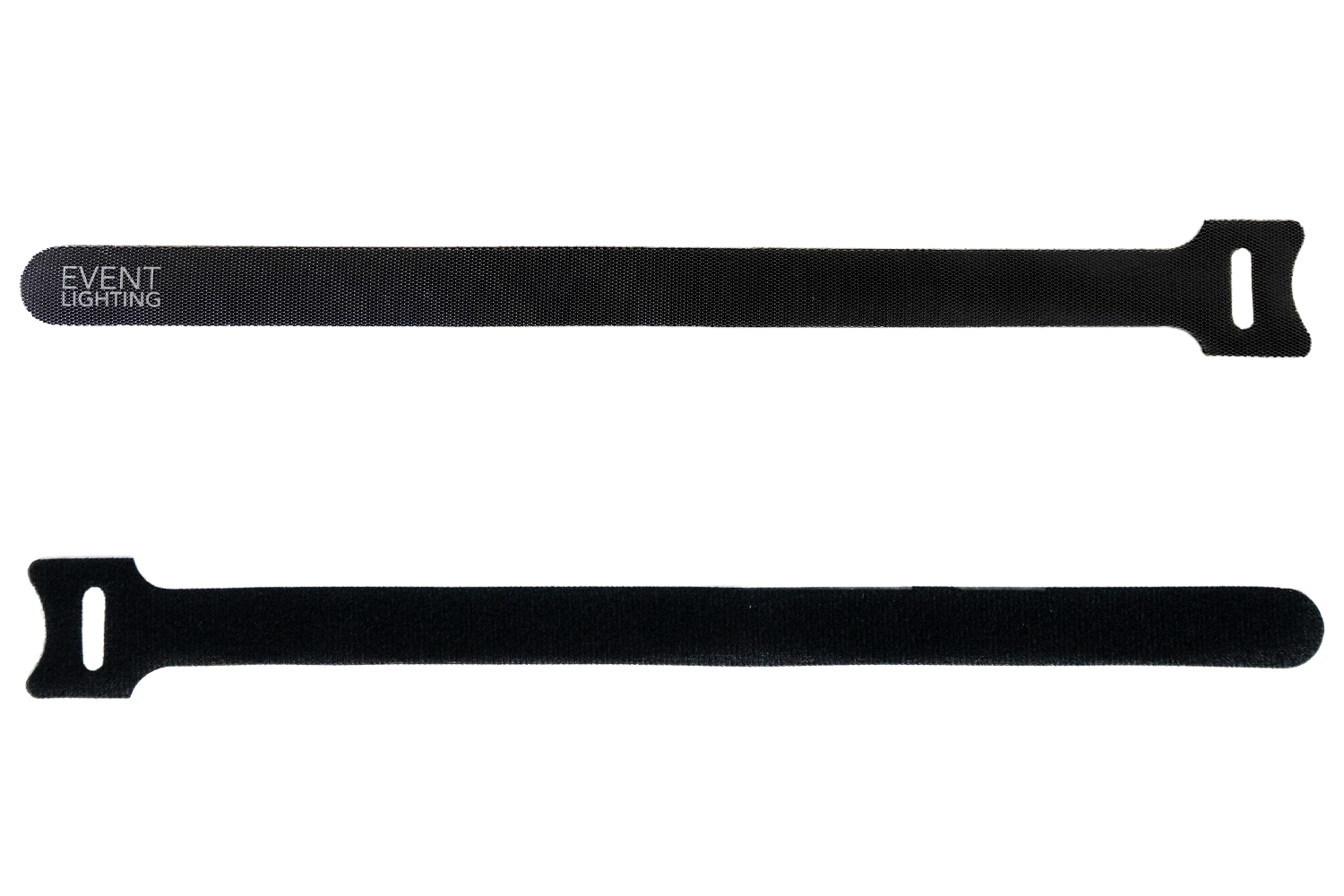 VT50H - Heavy Duty Velcro Tie 50-Pack (Black)