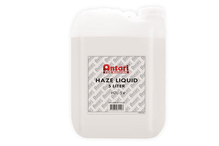 Antari 5L Waterbase Haze Liquid - Supplied by Event Lighting