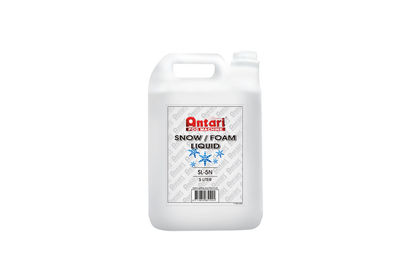 SL5N - Antari Snow or Foam Liquid (5 Litres)