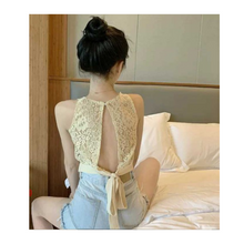 Load image into Gallery viewer, BOHO LACE BACK TOPS (BUY 1 GET 1)
