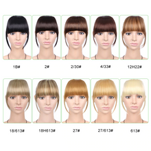 Load image into Gallery viewer, 3D Clip-In Bangs Hair Extensions