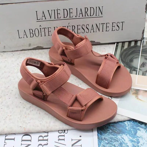 BEST KOREAN FLAT SANDALS