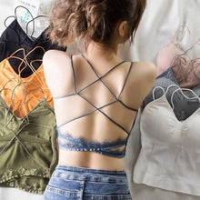 Load image into Gallery viewer, CROSS BACK BRALETTE  (BUY 1 GET 3)