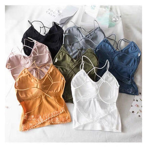 CROSS BACK BRALETTE  (BUY 1 GET 3)