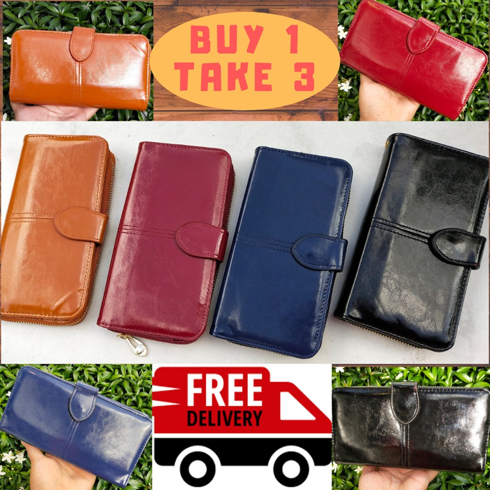 High-quality Long Purse Wallet( BUY 1 TAKE 3)