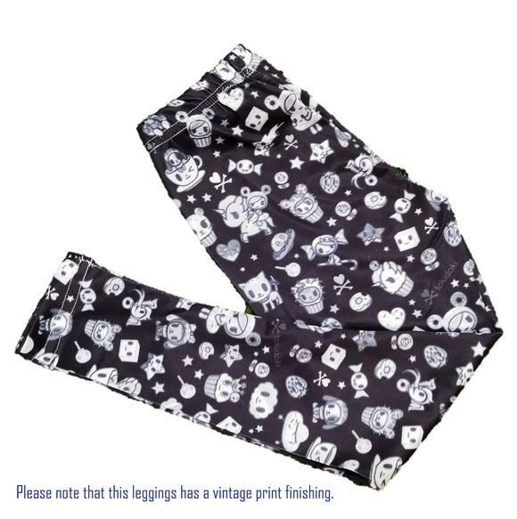 tokidoki Vintage Donutella Kids Leggings