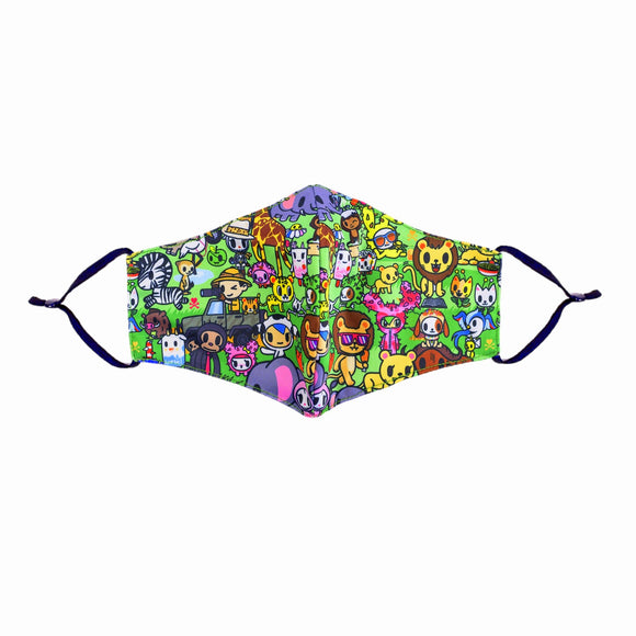 tokidoki Safari Anti-Bacterial Reusable Mask