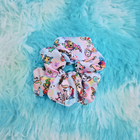 tokidoki Pastel Camo Hair Scrunchie (Hair Tie)