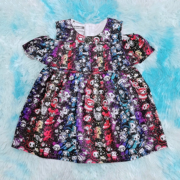 tokidoki Cosmo Off-shoulder Dress (Toddlers)