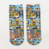 tokidoki Sushi Cars Socks