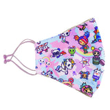tokidoki Pastel Camo Anti-Bacterial Reusable Mask