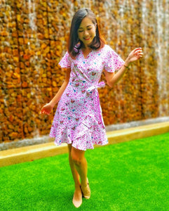 tokidoki Sakura Wrap Dress (Ladies)