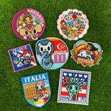 tokidoki Iron-On Embroidery Patch - Italia