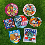tokidoki Iron-On Embroidery Patch - Thailand