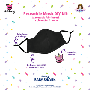 (Kids size) Pinkfong Do-it-yourself Mask Kit