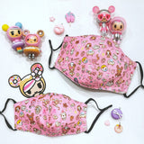 tokidoki Sweet Donutella Anti-Bacterial Reusable Mask