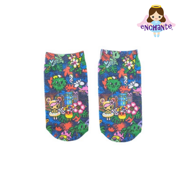 tokidoki Our Singapura Socks (Blue)