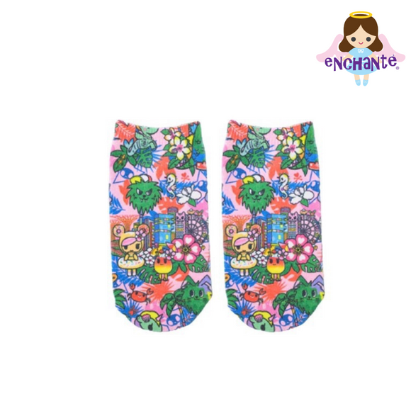 tokidoki Our Singapura Socks (Pink)