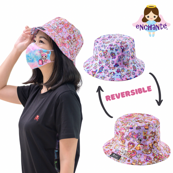 tokidoki Sweetshop Reversible Sun Hat
