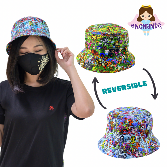 tokidoki Safari Reversible Sun Hat