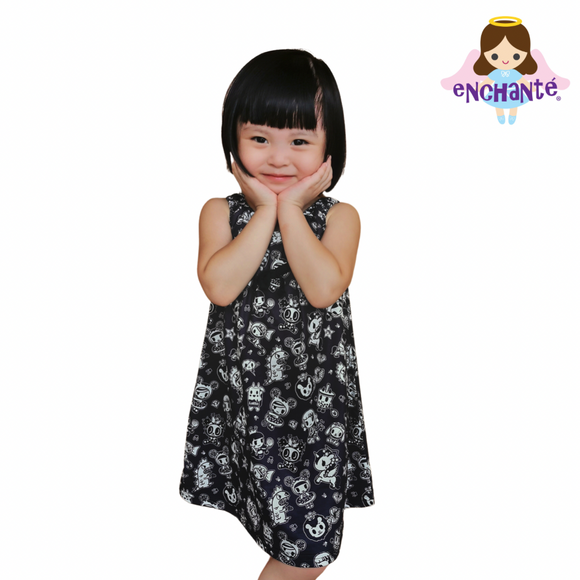 tokidoki Royals Tank Dress (Toddlers)