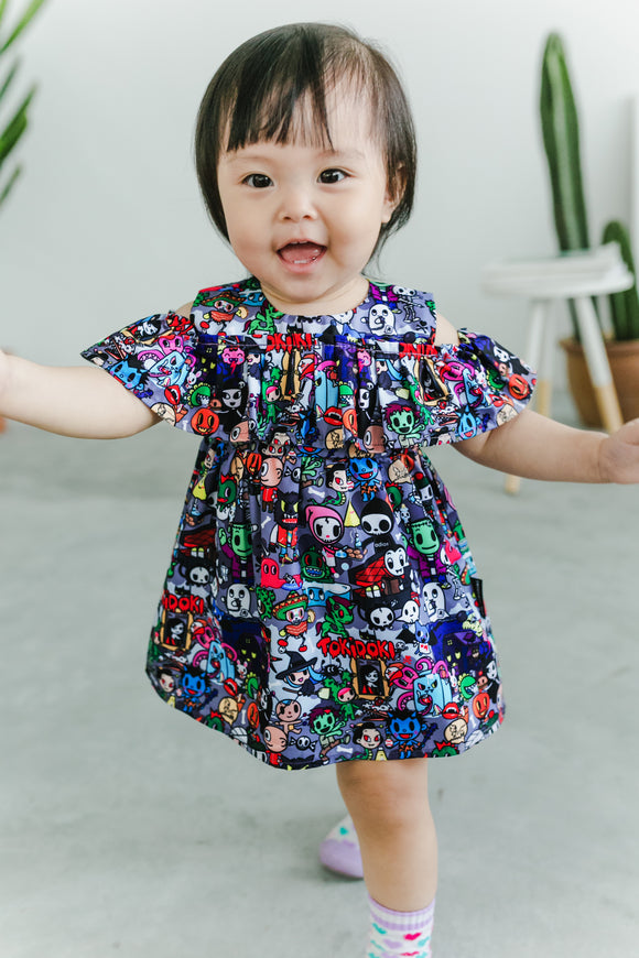 tokidoki Halloween Girls Dress (Kids Size)