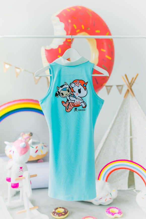 tokidoki Mozzarella Polo Dress