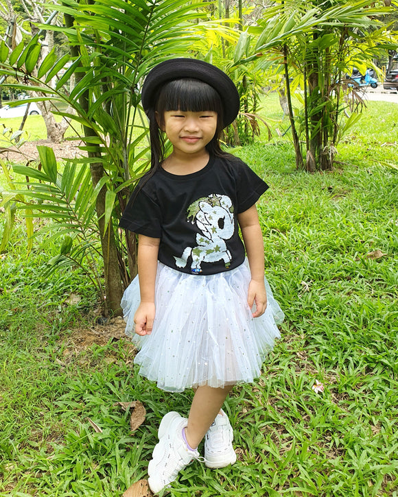 Starry Tulle Skirt (Kids)