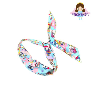 tokidoki Pastel Camo Wired Hair Scarf