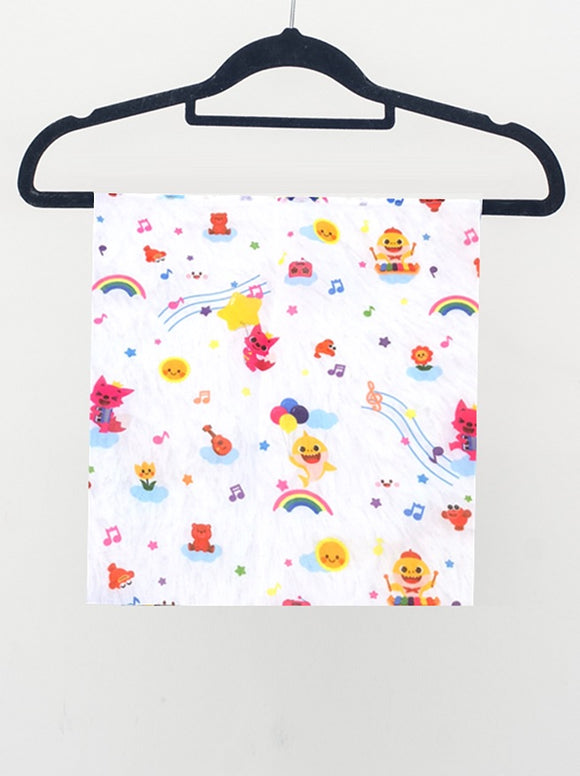 Pinkfong Baby Shark Celebrations Fashion Scarf